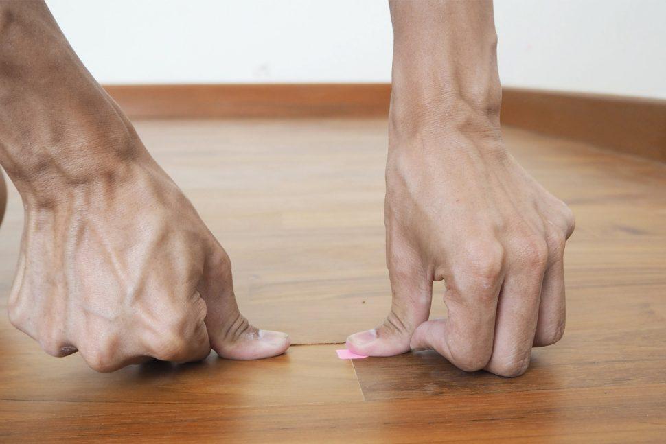 floor defect check