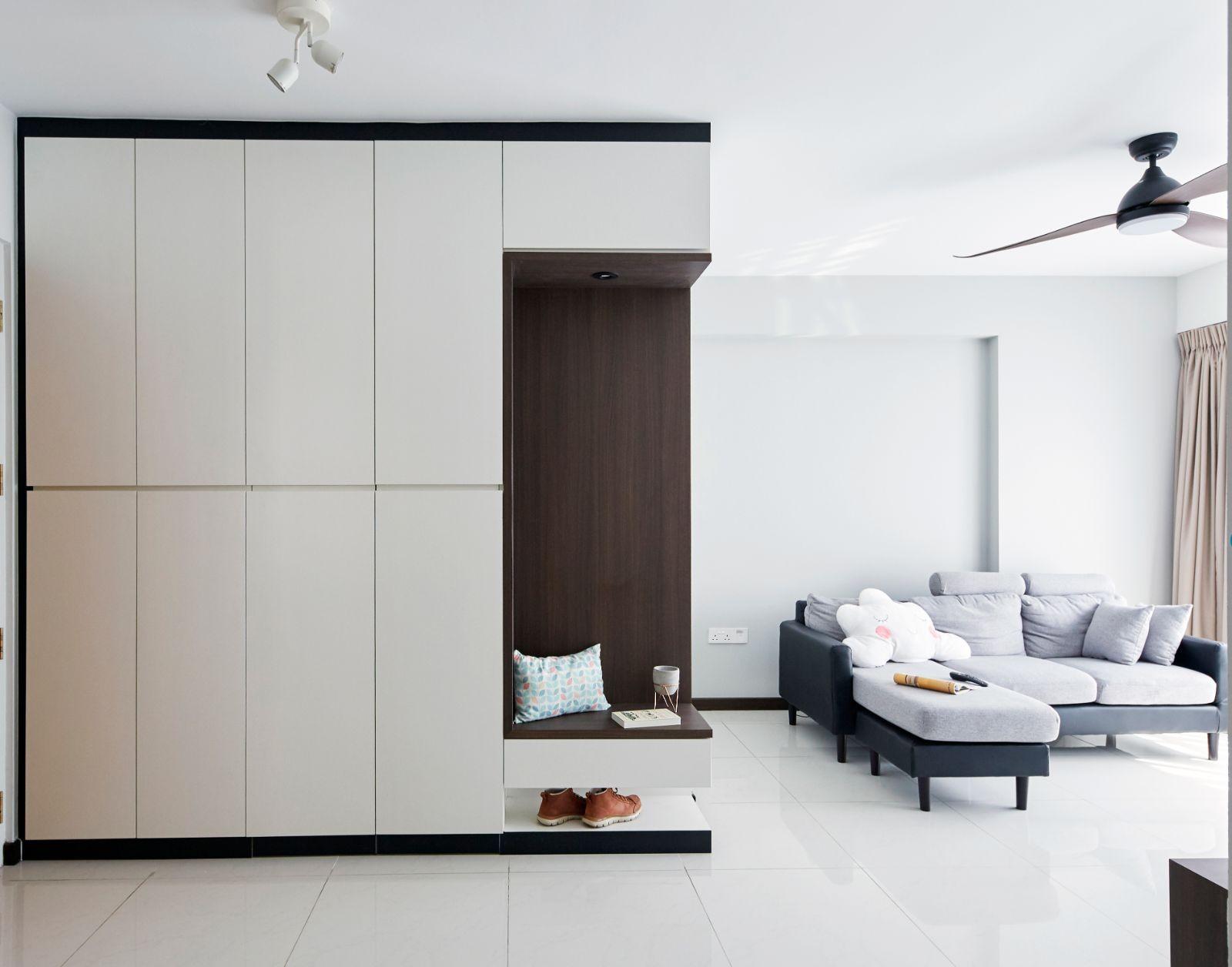 living room carpentry