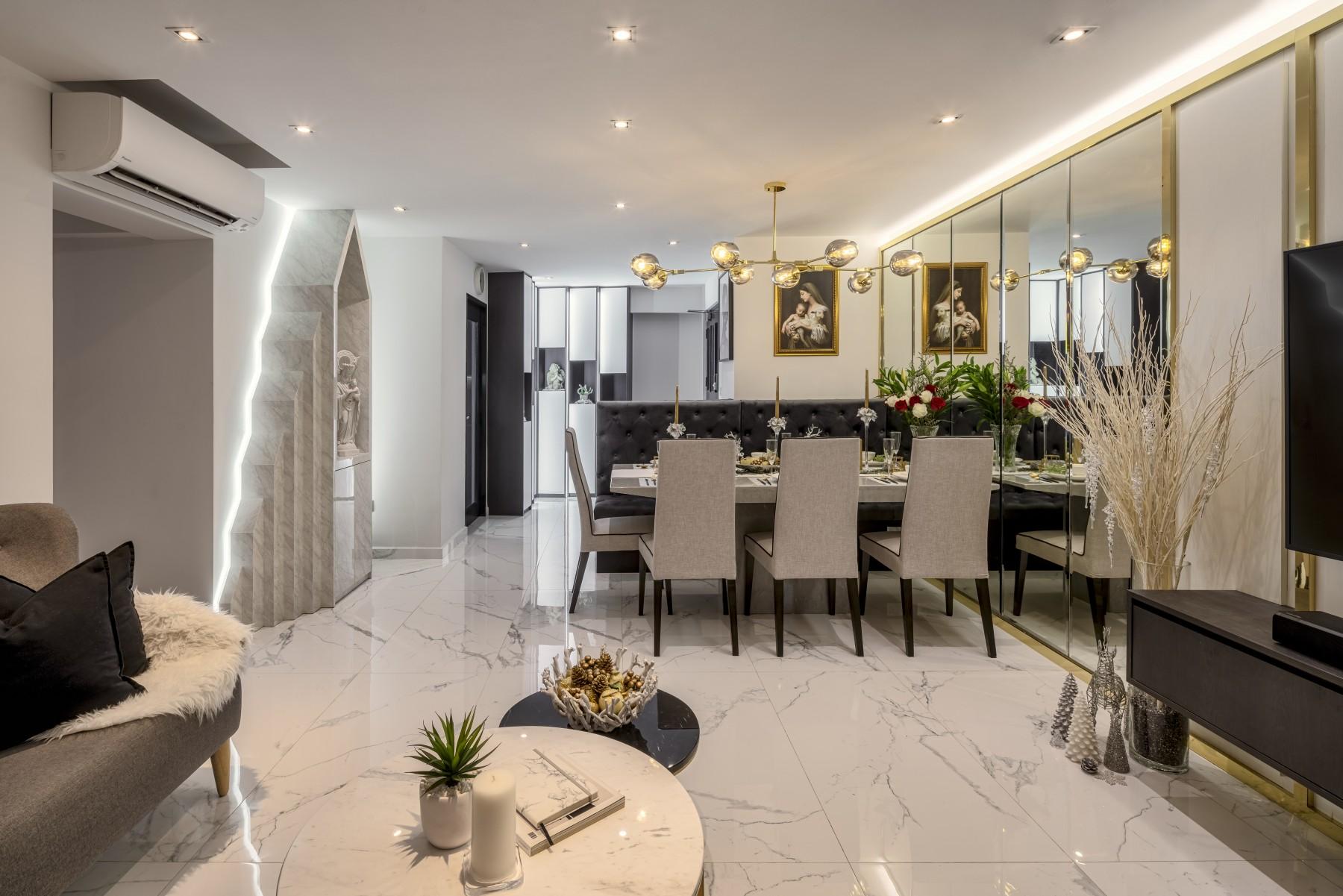 luxury marble floor