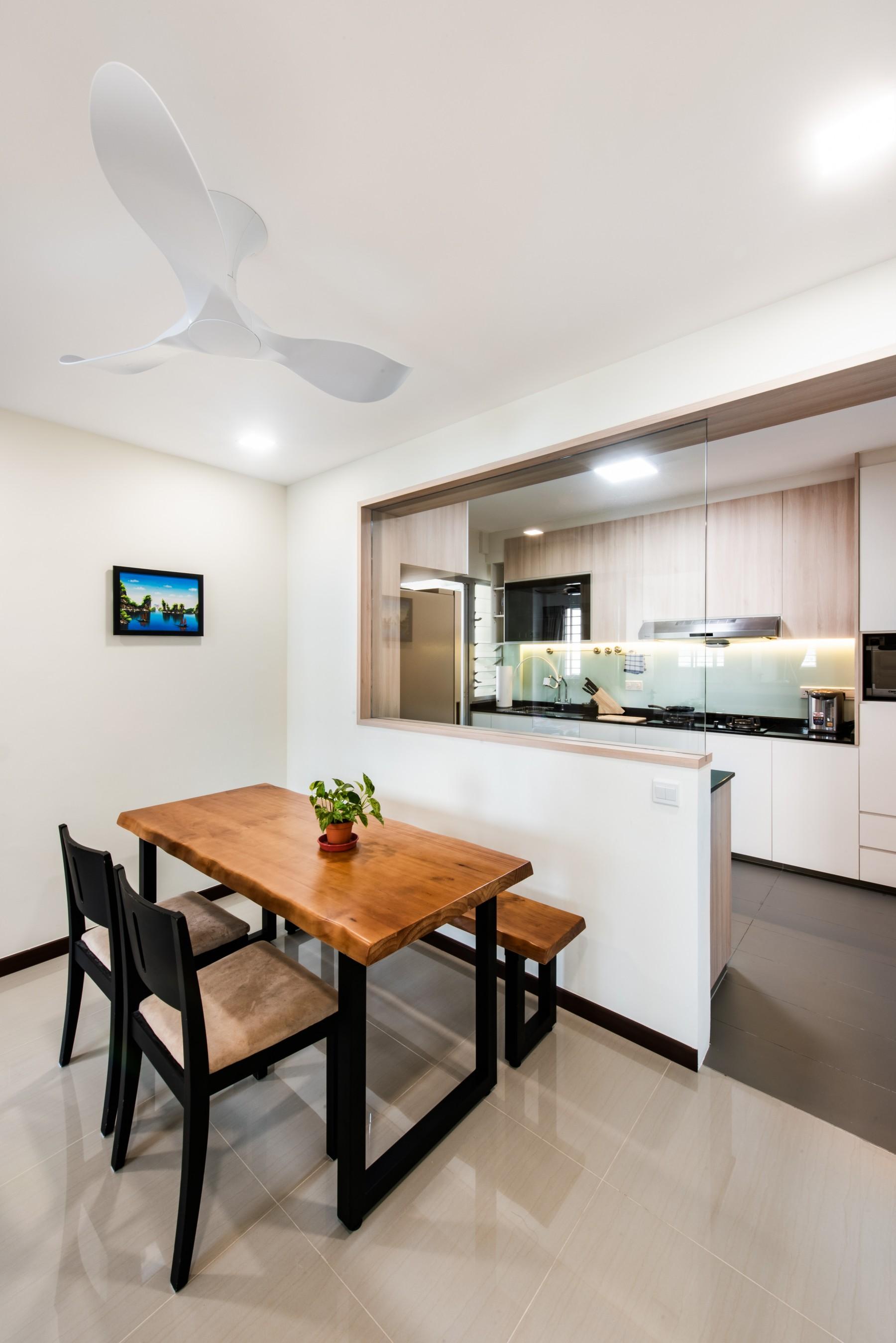 open kitchen bto hdb