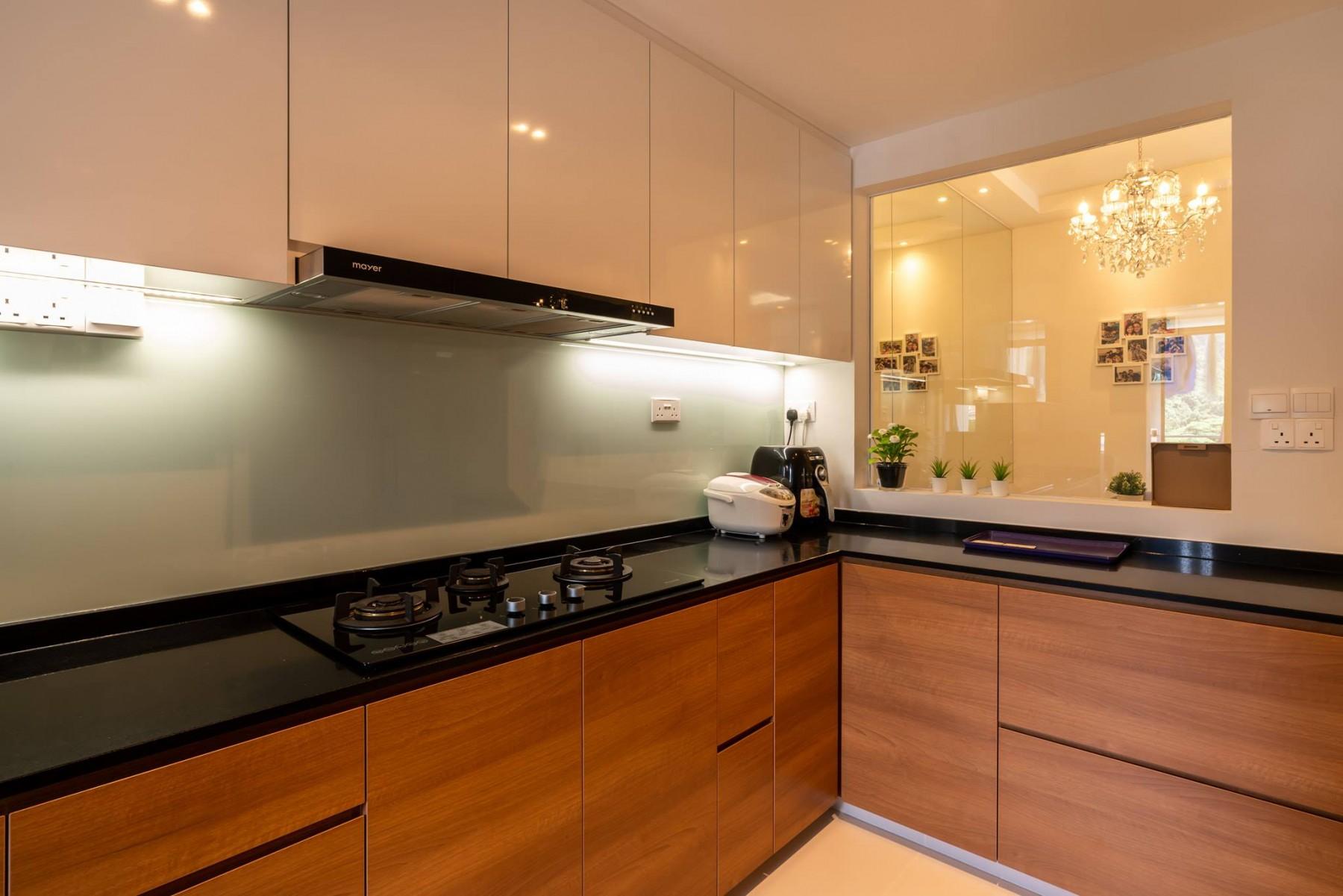 minimalist kitchen condo