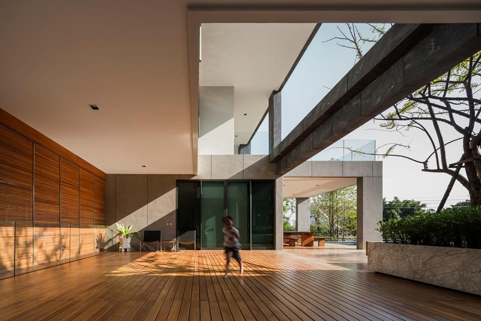 patio contemporary bungalow