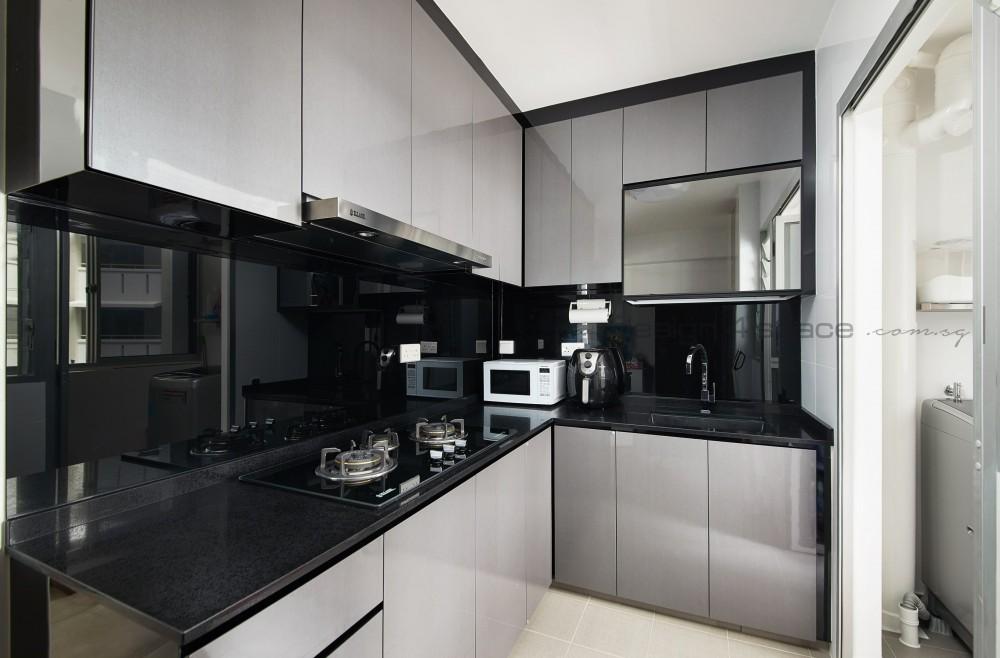 bto grey kitchen
