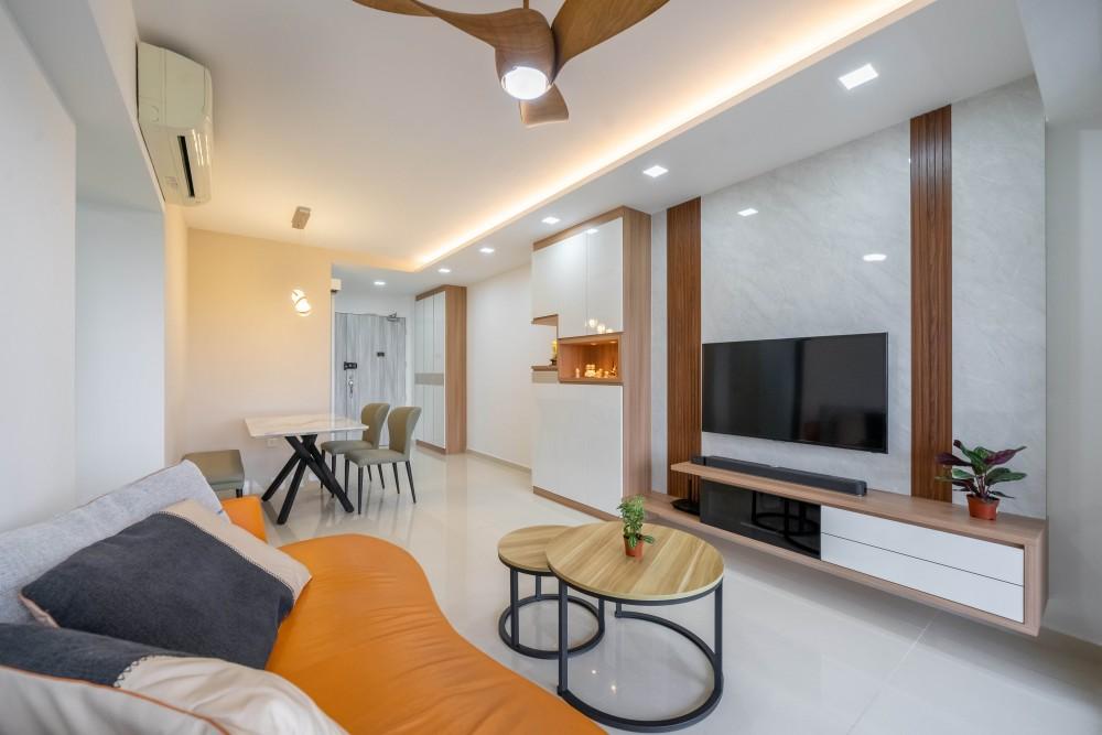 adora green living room