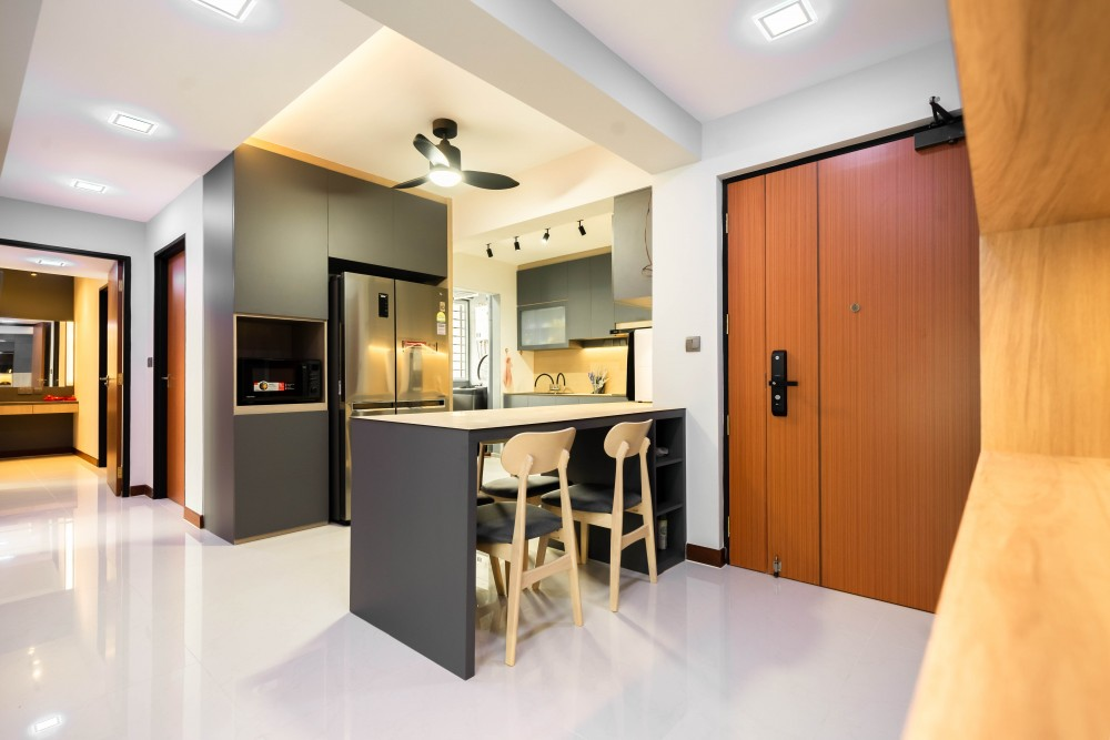 contemporary woodlands rise hdb