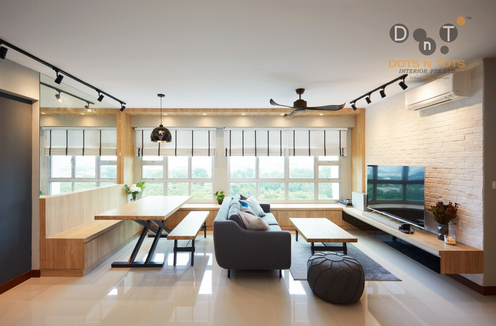 Five 3-Room HDB Designs That Combines Beauty With The Illusion Of Space