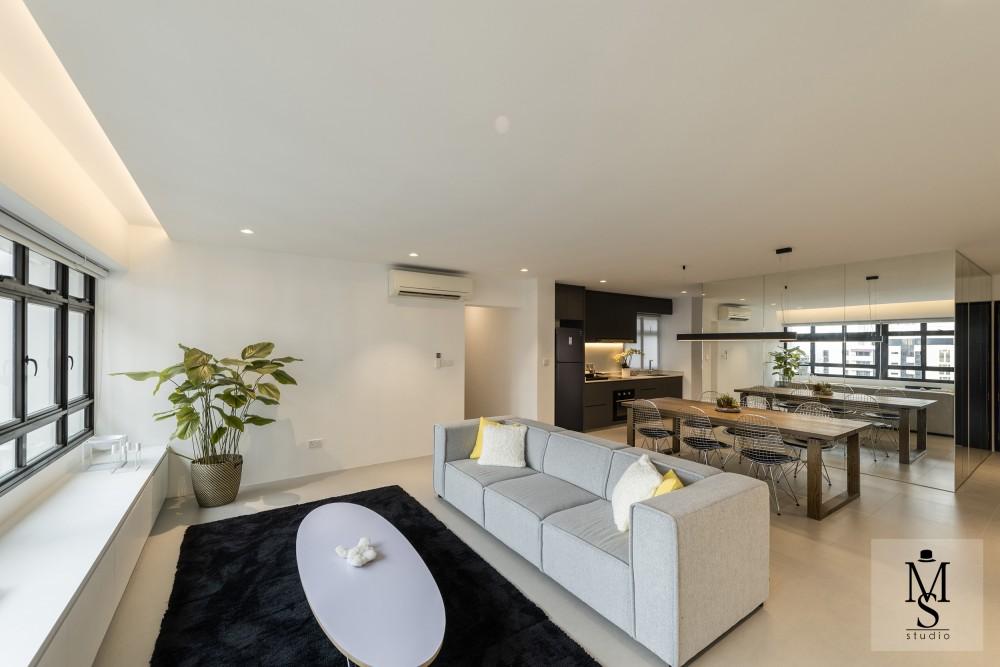 minimalist resale 3 room hdb