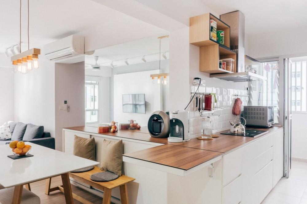scandi kitchen bto design