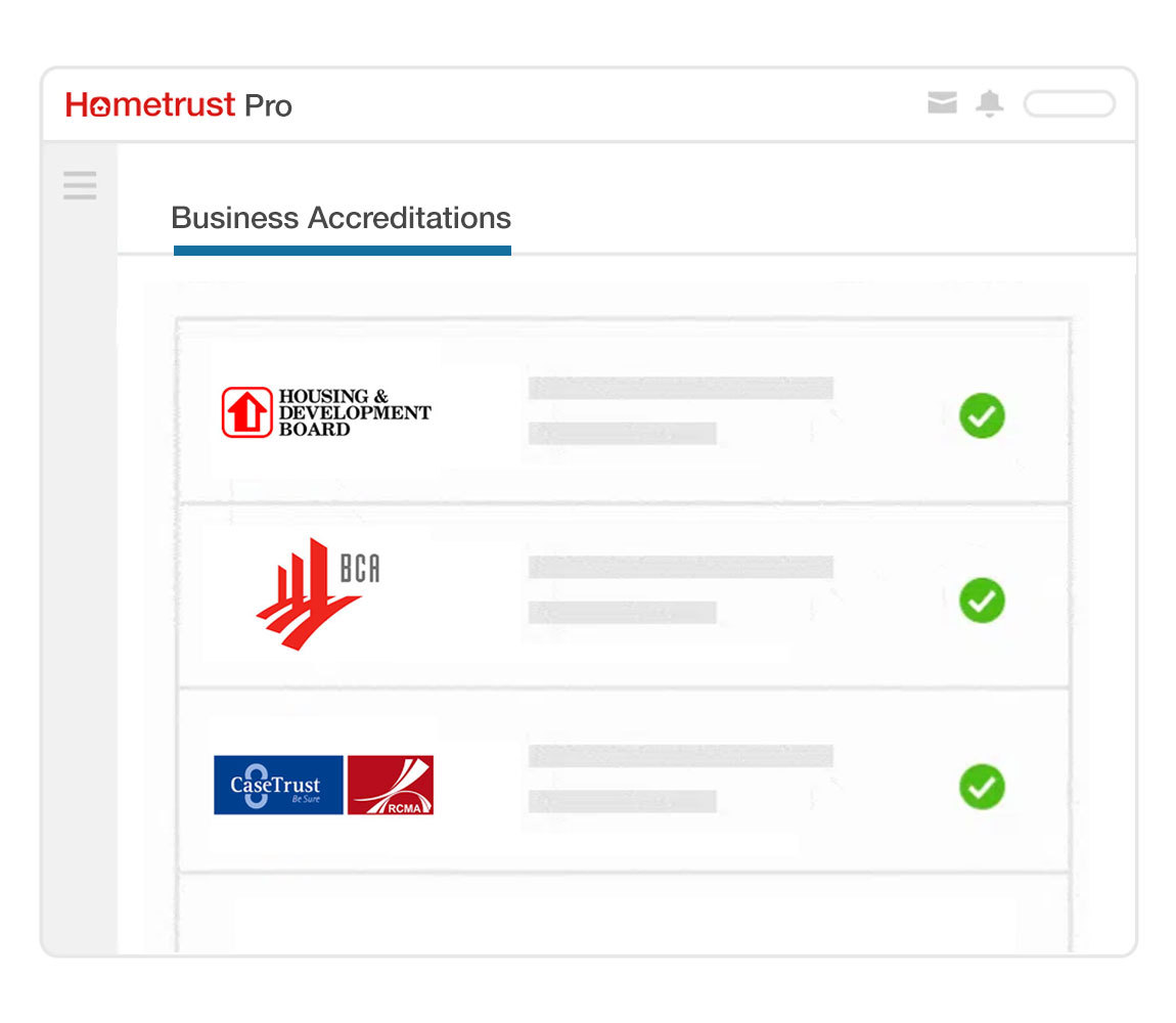Business Accreditations